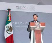 El Presidente de la República encabeza ceremonia por el Día del Policía