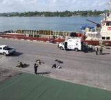Efectúan simulacro bioterrorista en el Puerto de Tampico