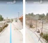 Ve la casa de su abuelo en Google Maps. retrataron su peor momento
