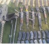 Decomisaron arsenal entre Chihuahua y Sonora