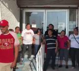 Ahora bloquean COMAPA Reynosa por crisis de agua
