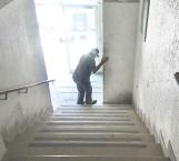 Ta empinada la escalera…