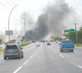Manos criminales prenden fuego a basurero clandestino de la J. López