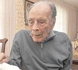 'Nacho' Trelles cumple 102 años