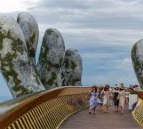 Así es el 'puente de oro' de Vietnam