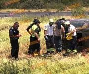 Volcadura deja mujer sin vida y un herido en Reynosa