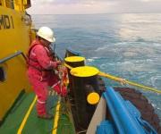 Con choque de buques inicia simulacro en altamar