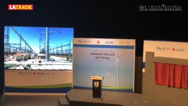 Inauguran Parque Eólico Reynosa