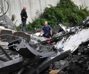 Colpasa puente en Italia tras violenta tormenta