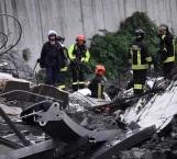 Aumenta a 22 cifra de muertos por derrumbe de puente en Italia