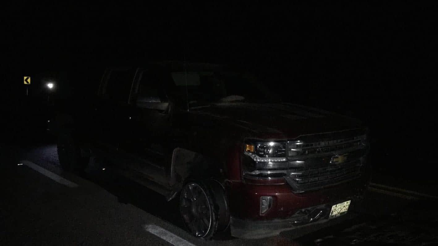 ASEGURADAS. Las otras dos camionetas decomisadas tras lo ocurrido en la zona cañera.