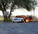Se incendia Marquis por carretera Ribereña