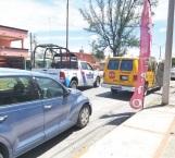 Causa choque transporte escolar; tres lesionados