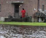 Fotos del huracán Florence en costas de Estados Unidos