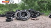 Convierten terreno en basurero