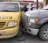 Lesionado en accidente vehicular en Reynosa