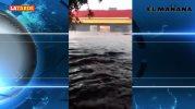 Reportan torrenciales aguaceros en Sonora
