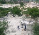 Descubren restos humanos en cementerio clandestino en Reynosa