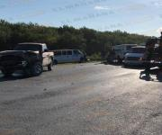 Reynosa: Carreterazo deja dos lesionados