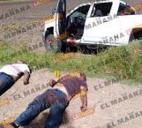 Topan militares con 'huachicoleros'; hay 2 bajas civiles