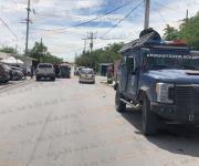 Balean a conductor y llega a pedir auxilio a un cuartel de estatales en Reynosa