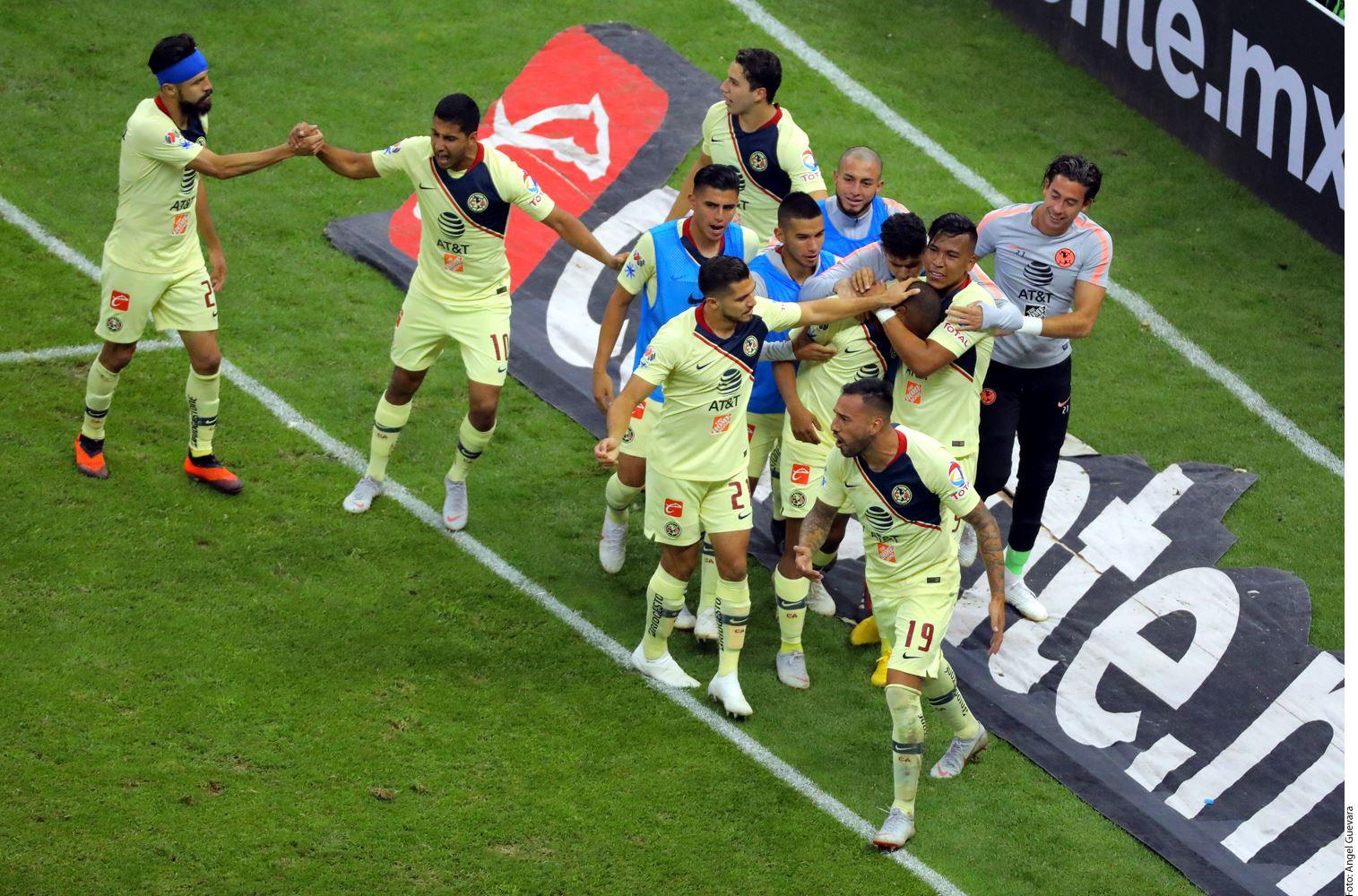 El empate 1-1 ante Guadalajara fue sólo el inicio de la curva de partidos más complicada que tendrán las Águilas en lo que resta del Apertura 2018.