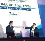 Asume alcaldía Carlos R. Ulivarri