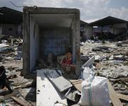 Imágenes de los trabajos de rescate en Indonesia