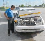Imprudencia causante de un accidente