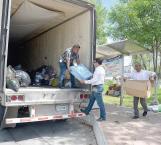 Por fin parten a Sinaloa víveres para daminificados