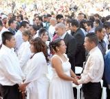 Extienden campaña de matrimonios colectivos