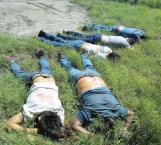 Matan a nueve en zona centro