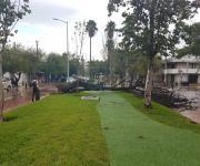 Azota sorpresiva tromba en Ciudad Victoria