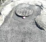 De nuevo brotan aguas residuales en La Cañada