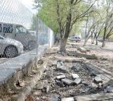 Solicitan ayuda para reparar pared de escuela