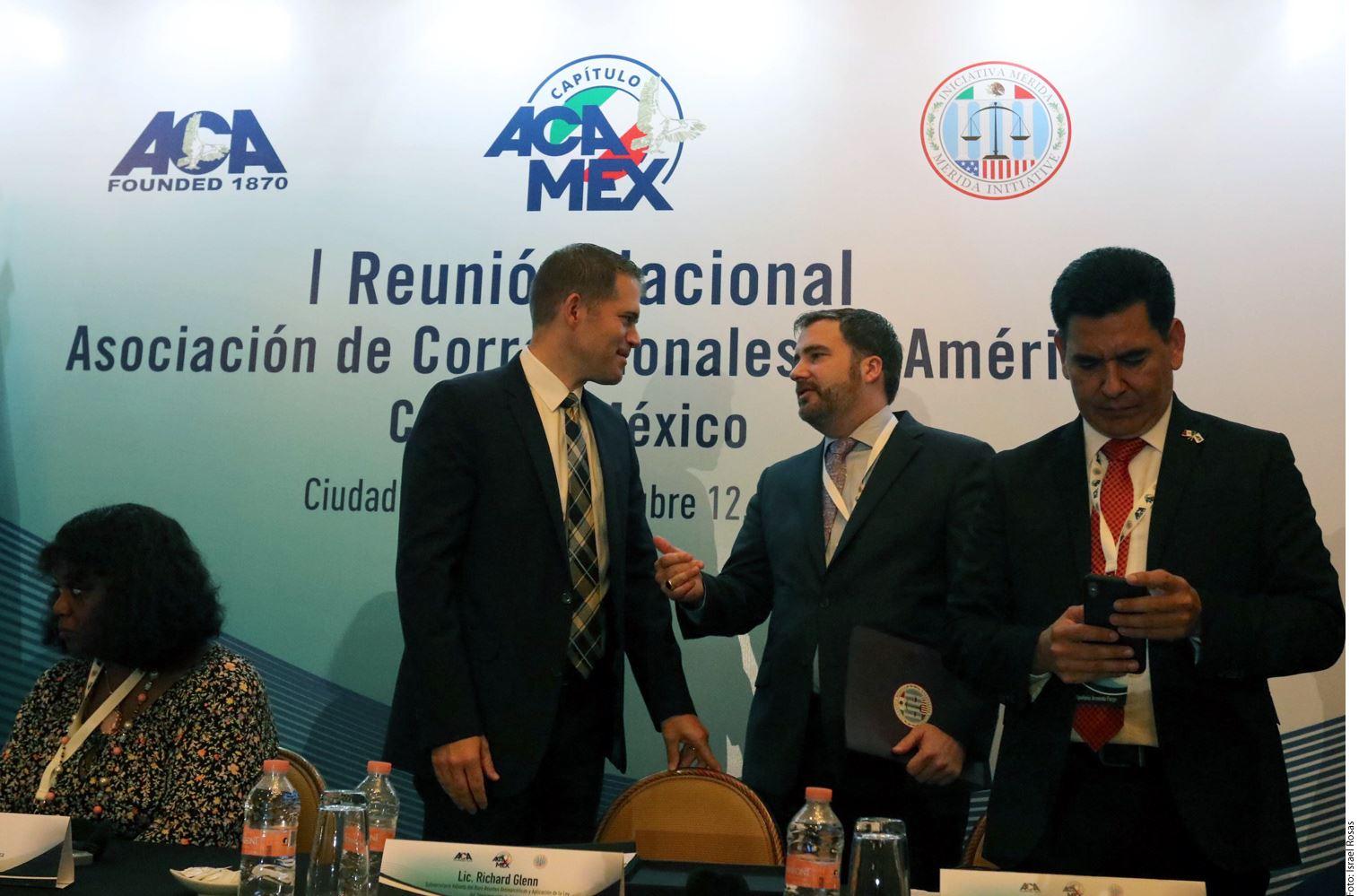 Funcionarios de México y Estados Unidos realizaron una reunión en materia penitenciaria en el marco de la Iniciativa Mérida.