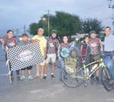 ¡De Reynosa a Chiapas en su bicicleta!