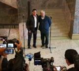 Coinciden López Obrador y Cabeza de Vaca en atender las causas que originan inseguridad y violencia