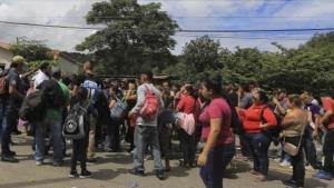 México no usará la fuerza contra migrantes en la frontera con Guatemala