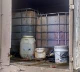 Decomisan 2,500 litros de hidrocarburo robado en Río Bravo