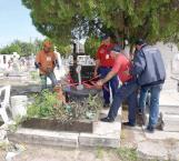 Saturados panteones, ya no hay espacio para más muertos en Reynosa