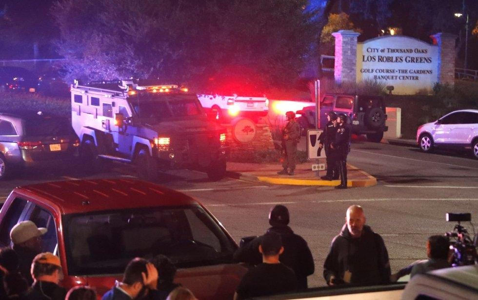 17 El bar Borderline de Los Ángeles donde ha irrumpido el atacante y en el que ha disparado al menos 30 veces se celebraba una fiesta universitaria.