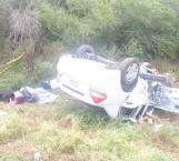 Carreterazo, 2 muertos y 2 heridos