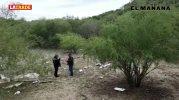 Se desploma avioneta en un paraje solitario del Rancho El Sauz del municipio de San Fernando, Tamaulipas