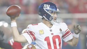 ¡Suelta Manning el brazo!