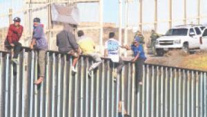 Migrantes llegan a Tijuana ...¡Sí se pudo!
