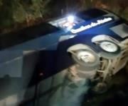 Reportan 7 muertos por accidente de autobús en N. León