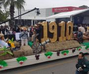 Encabeza el gobernador el desfile conmemorativo del 108 aniversario de la Revolución Mexicana