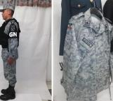 Muestran uniforme de la Guardia Nacional