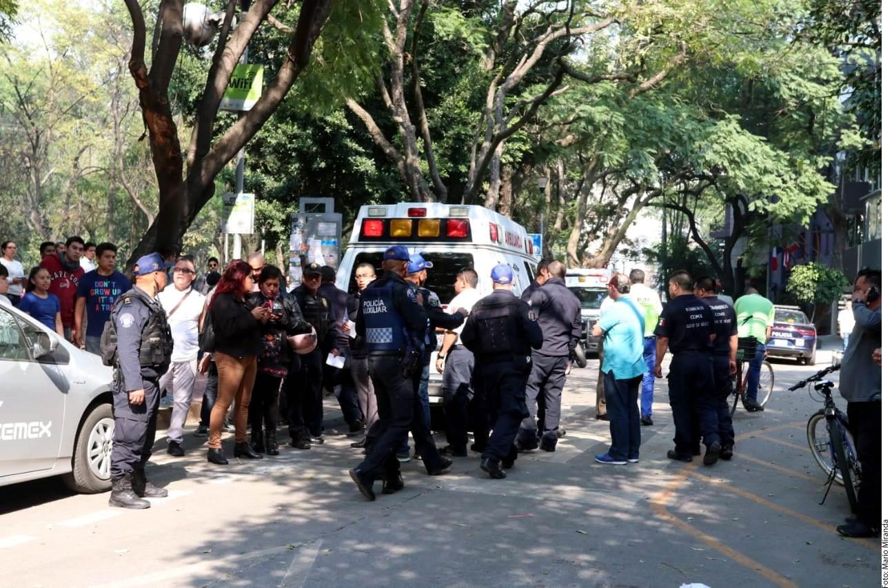 Hubo una intensa movilización policiaca posterior al ataque.